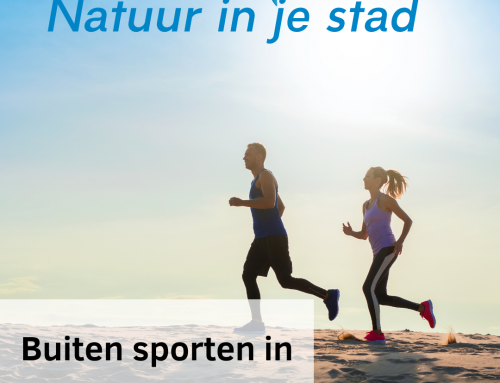 Bui­ten spor­ten in de natuur